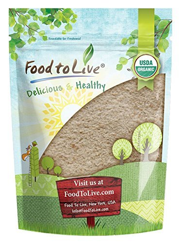 Organic Spelt Flour by Food to Live (Whole Grain, Non-GMO, Stone Ground, Raw, Vegan, Bulk, Great for Baking Bread, Product of the USA) - 1