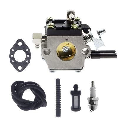 Amazon.com: ANTO Carburador Carb Kit para Stihl 032 032AV ...