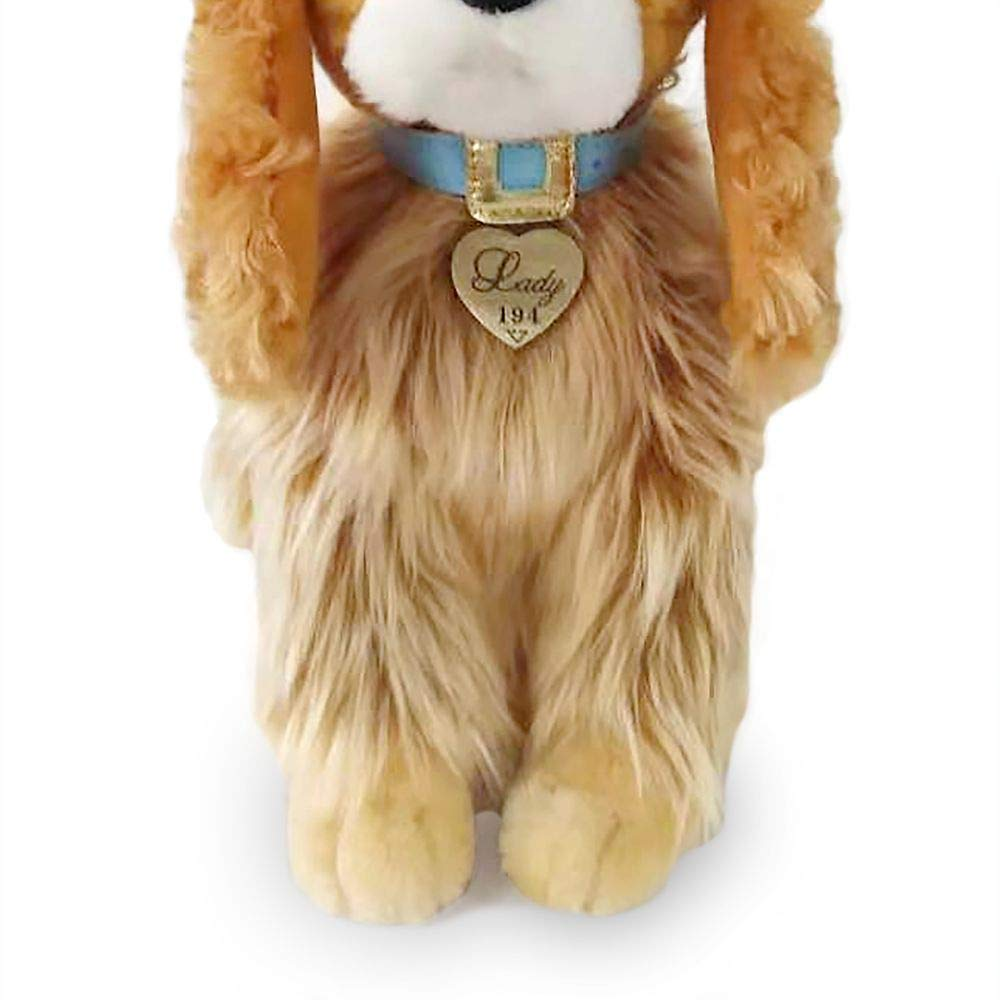 Disney Lady Plush Live Action Small Lady and The Tramp 11