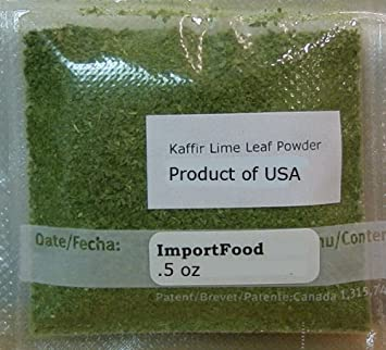 Thai Kaffir Lime Leaf Powder 1/2 oz