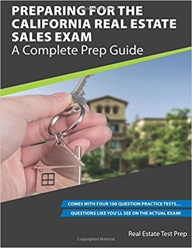 Book Preparing For The California Real Estate Sales Exam: A Complete Prep Guide