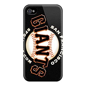 New Style Tpu 4/4s Protective Case Cover/ Iphone Case - San Francisco Giants