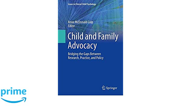 child and family advocacy mcdonald culp anne