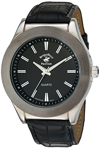 US Beverly Hills Polo Club Men's ' Quartz Metal Watch, Color Black (Model: 58768)