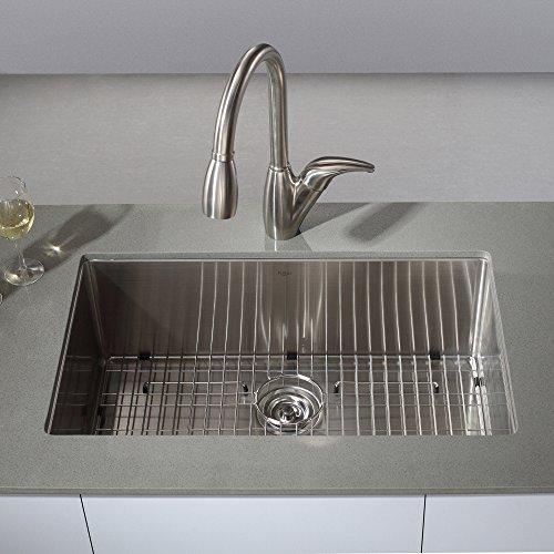 30 Undermount Single Bowl Sink