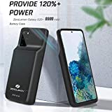 ZEROLEMON Galaxy S20+ Battery Case 8000mAh, Qi