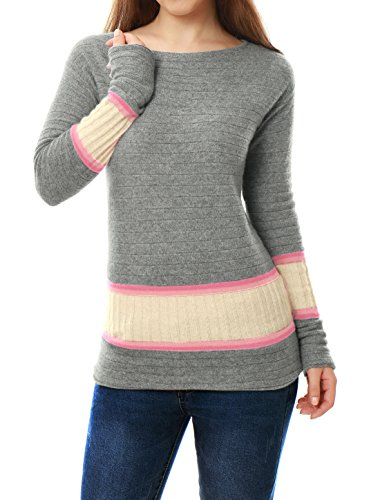 Pink 100% Cashmere Sweater - 5