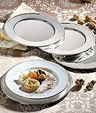 Godinger Beaded Service Plates - Set of 4