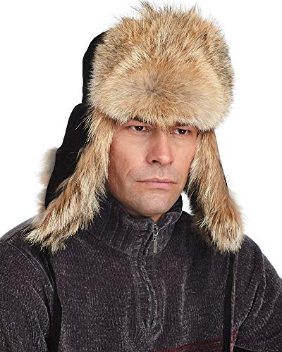 frr The Coyote Fur Russian Trooper Hat - S ()