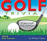 Golf Trivia: A Year Of Golf Trivia Challenges! 2018 Boxed/Daily Calendar (CB0250)