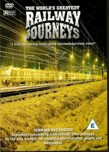 TRAINS - RAILWAY JOURNEYS - Denmark & Sweden - THIS DVD IS NEW & FACTORY - Factory Railway