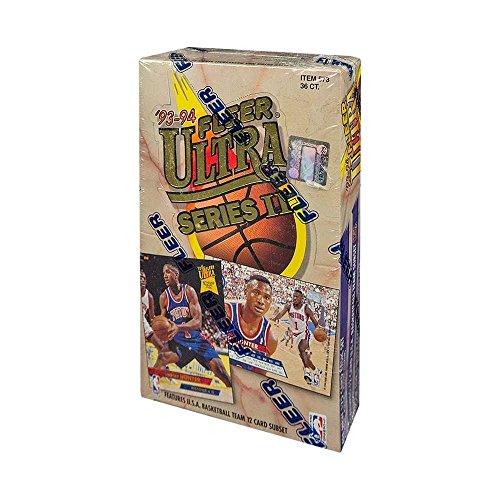 (1993-94 Fleer Ultra Series 2 Basketball Hobby Box)