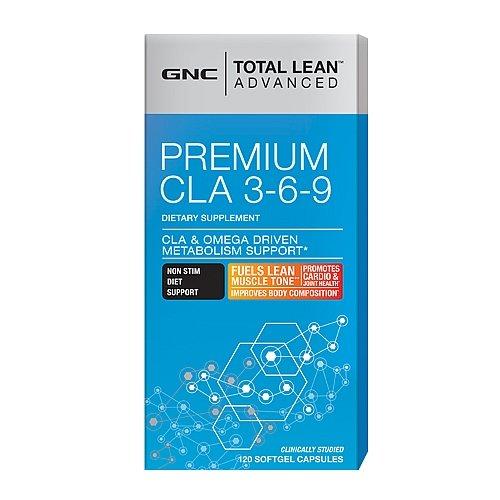 GNC Total Lean Advanced Premium CLA 3-6-9 120 Softgel Capsule