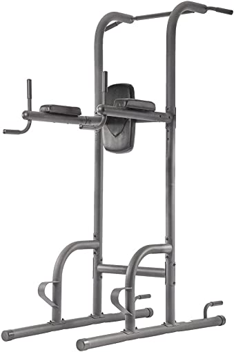 Durable Multi-Function Body Power Tower w Dip Station Pull Up Bar For Home Fitne
