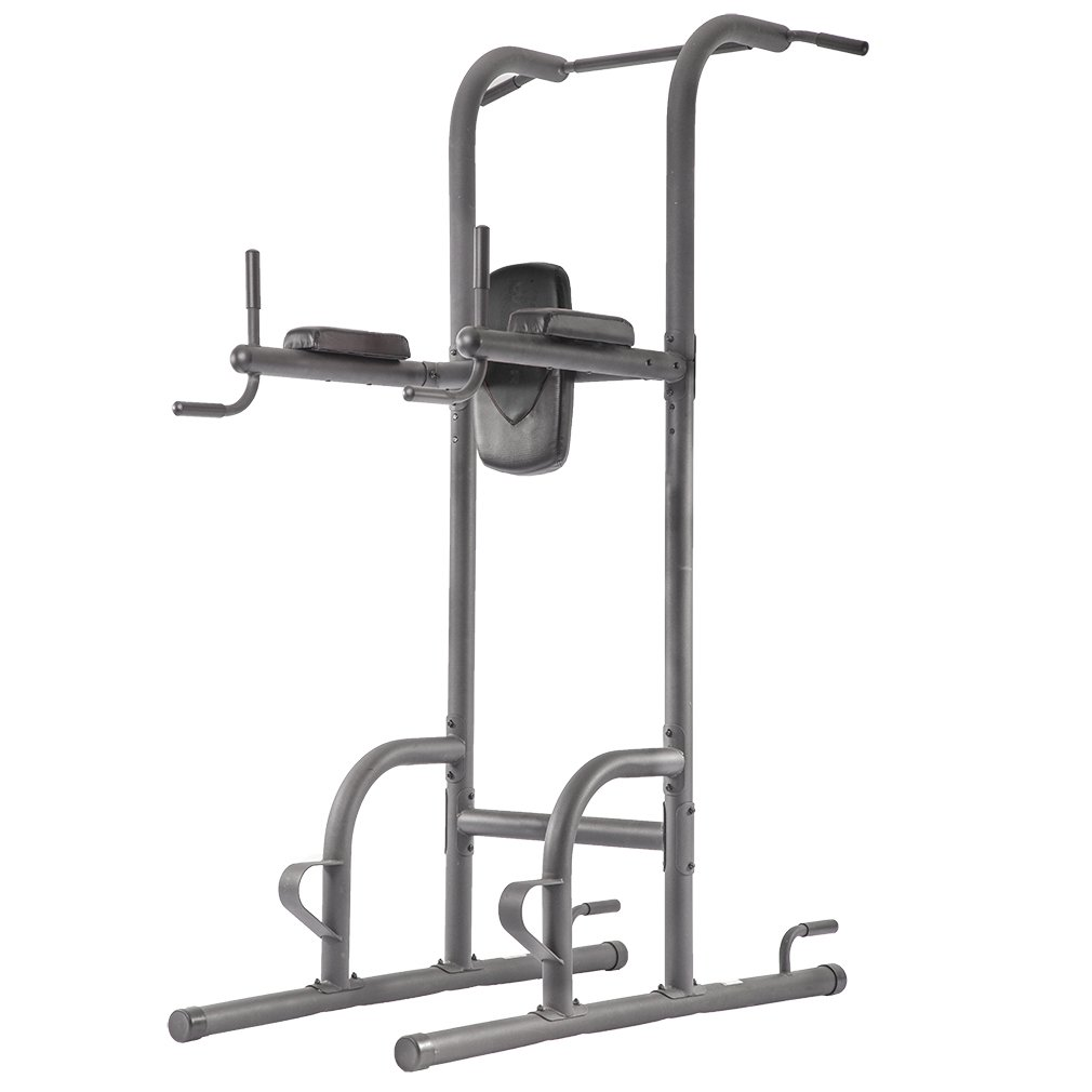 Durable Multi-Function Body Power Tower w/Dip Station & Pull Up Bar For Home Fitness