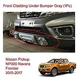 Powerwarauto Silver Front Cladding Under Bumper