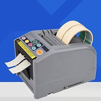 Dispensador automático de cinta eléctrica, 220 V, cinta adhesiva/cortadora de papel,