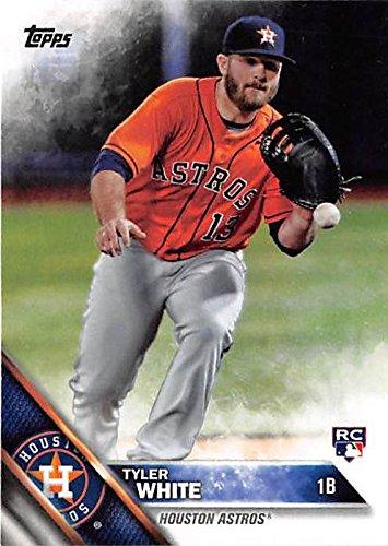 Tyler White Baseball Card Houston Astros 1b 2016 Topps Us2117