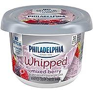 Philadelphia Cream Cheese Spread Whipped Mixed Berry, 8 oz