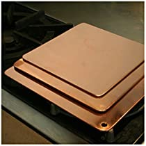 Duparquet Copper Cookware: Copper Heat Diffuser, 10 square