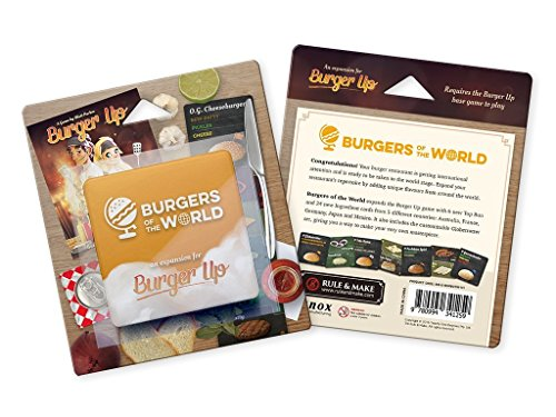 GreenBrier Games Burger Up: Burgers of The World Expansion Board Game