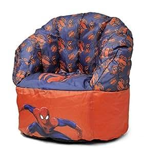 marvel spider man toddler bean bag chair toys games. Black Bedroom Furniture Sets. Home Design Ideas