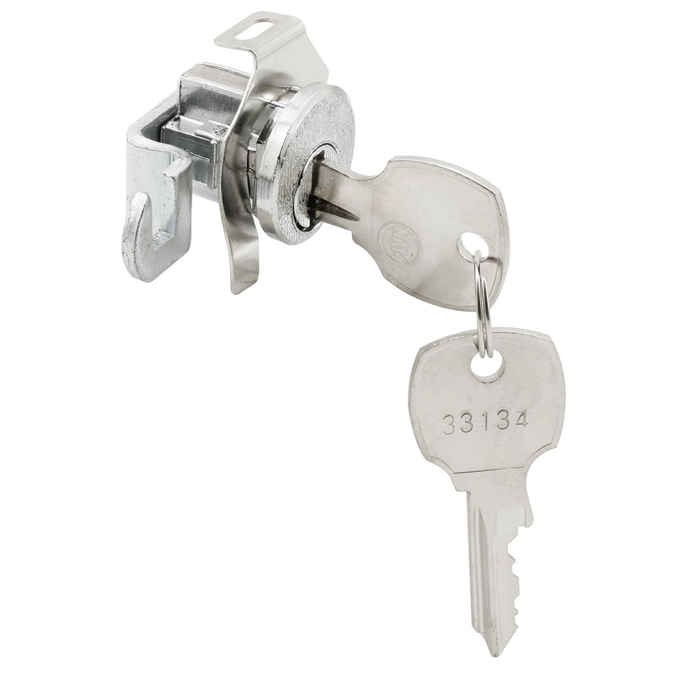 Prime-Line Products S 4322 5 Pin National Mail Box Lock Counter Clockwise, Nickel