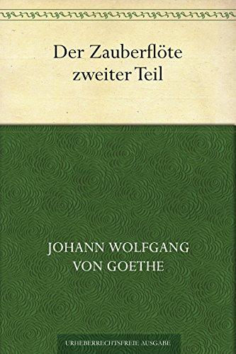goethes die zauberflote ii german edition