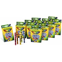 Crayola Bulk Ultra Clean Washable Crayons, Back to School Supplies, 12 Packs of 24 Count
