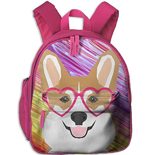 Coffee Pot Costume (Welsh Corgi Kids School Pink Sackpack)