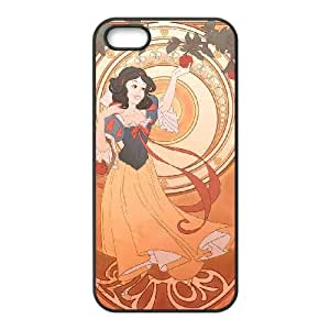 Disney Snow White And The Seven Dwarfs Character iPhone 4 4s Cell Phone Case Black yyfabc-378684