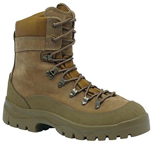 Belleville Men's Mountain Combat Boot Coyote 950 11.5 Wide