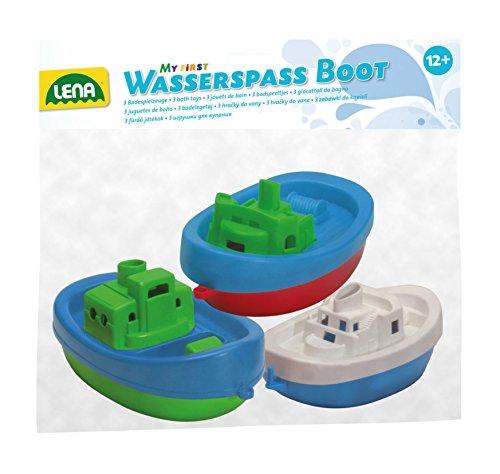 Lena 65470 - Wasserspaß Boote, 3 Stück