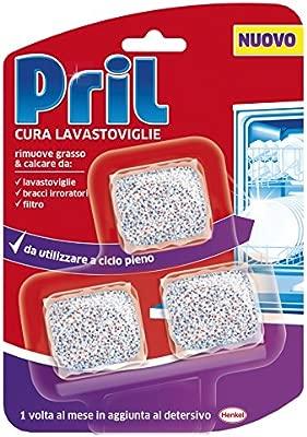 PRIL Pads De Limpieza Para Lavavajillas 3 Piezas Detergente De ...