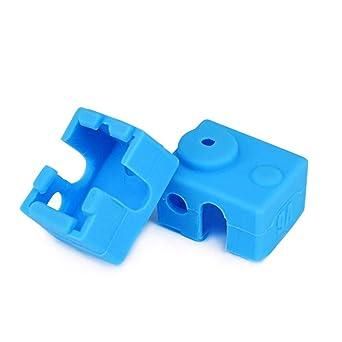 V6 aislamiento de la impresora 3d Calcetines de silicona para v6 ...