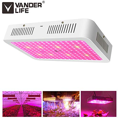 1500W LED Grow Light with Double Chips Full Spectrum for Indoor Greenhouse Hydroponic Plants Veg and Flower
