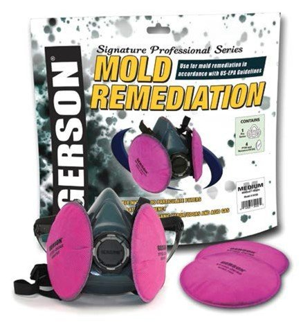 Gerson Mold Remediation Respirator Kit Signature Pro Series (Large) by Gerson