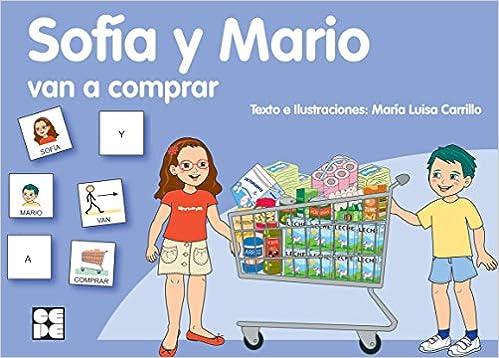 Pictogramas: Sofía y Mario van a comprar: 21 Pictogramas: lecturas fáciles para niños con dificultades: Amazon.es: Carrillo Rojo, María Luisa: Libros