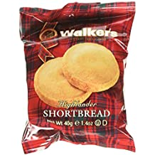 Walkers Shortbread Highlanders, 1.4 Ounce (18 Count), Traditional and Simple Pure Butter Shortbread Cookies from the Scottish Highlands, Made with Quality Ingredients, Free from Artificial Flavors