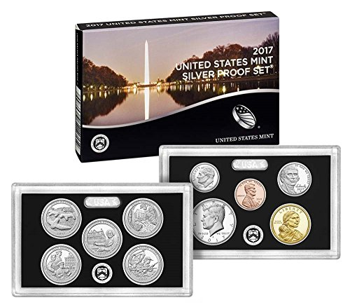 2017 S US Mint Silver Proof Set (16RH) OGP - Proof Us Mint Set Silver