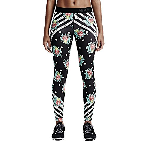 Nike Women's NP CL Tight Black/White 725477-010 (Size: M)