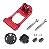 Toogoo Bicycle Computer Mount, Aluminum Alloy Bike Stem Extension Holder for GPS/Stopwatch / Sports Camera red