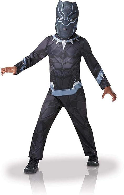 black panther costume bambino  Rubie's 640907S Marvel Avengers Black Panther Costume Bambino, Nero ...