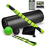 "Fitness Kings The Ultimate Foam Roller Set - Large 18"" Foam Exercise Set"