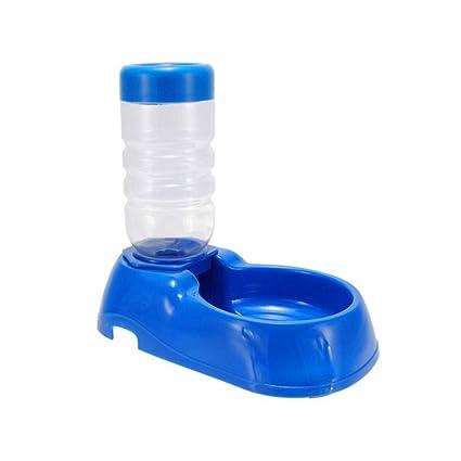 Ruiting Dispensador de Agua para Mascotas automática del Perrito de 500 ml Triturador Animal doméstico del
