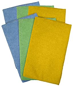 Detailer's Choice 3-606 Microfiber Cleaning Cloth Roll - 6-Pack