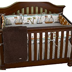 Cotton Tale Designs Aye Matie 4 Piece Boy's Crib Bedding Set