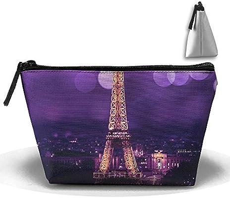7ec4bb563968 Amazon.com: FGBNJI Trapezoid Cosmetic Bags Brush Pouch Eiffel Tower ...