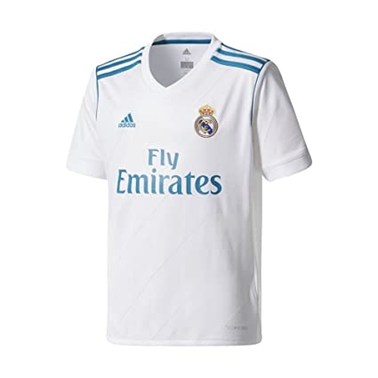 a0194ae82 Amazon.com   adidas Real Madrid Home Soccer Jersey Youth 2017 18 ...