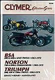 M330 Clymer Vintage British Motorcycle ? BSA, Norton, Triumph Repair Manual
